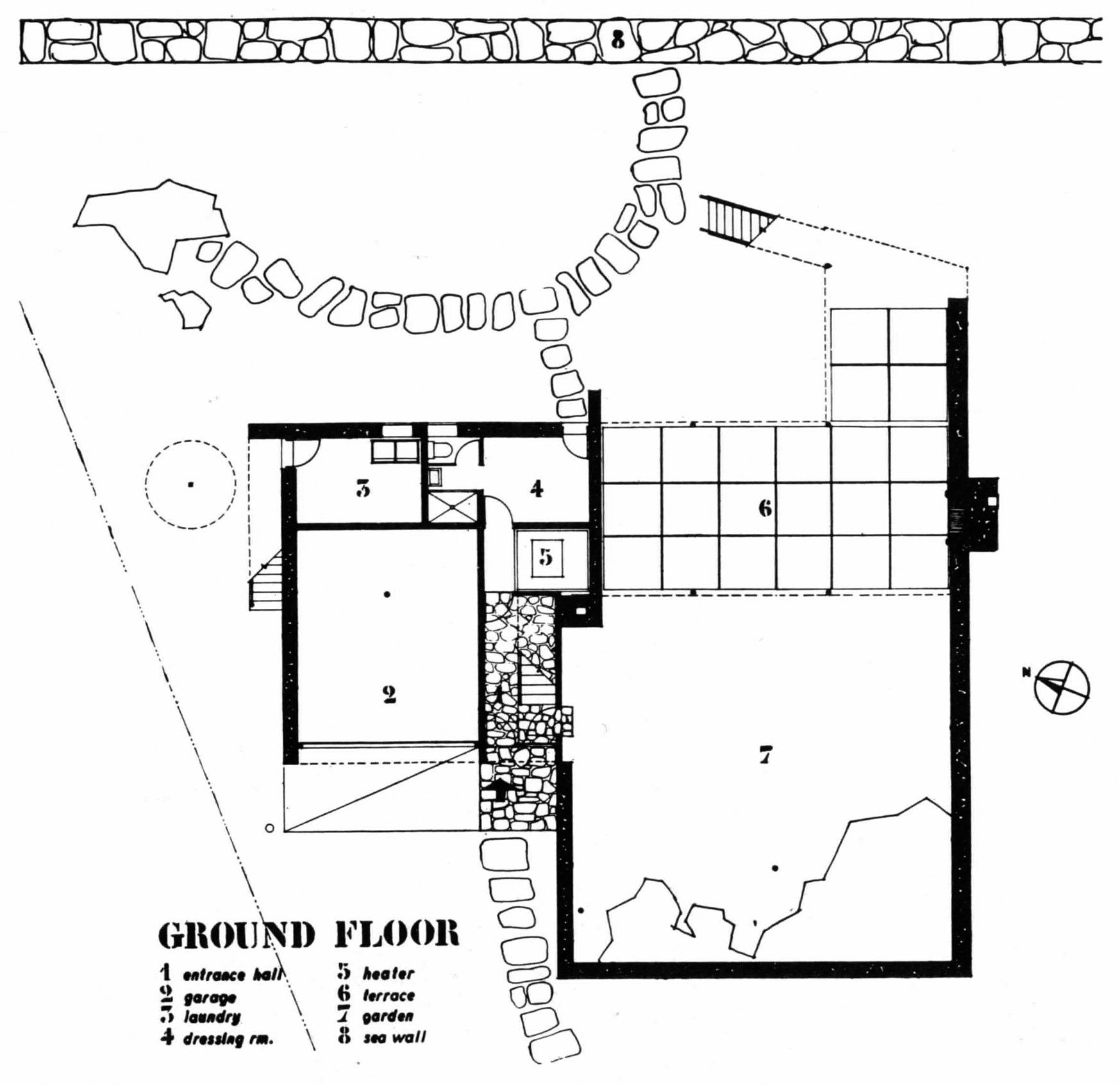 Architectureweek Image Gropius And Breuer S Hagerty House Architectuur