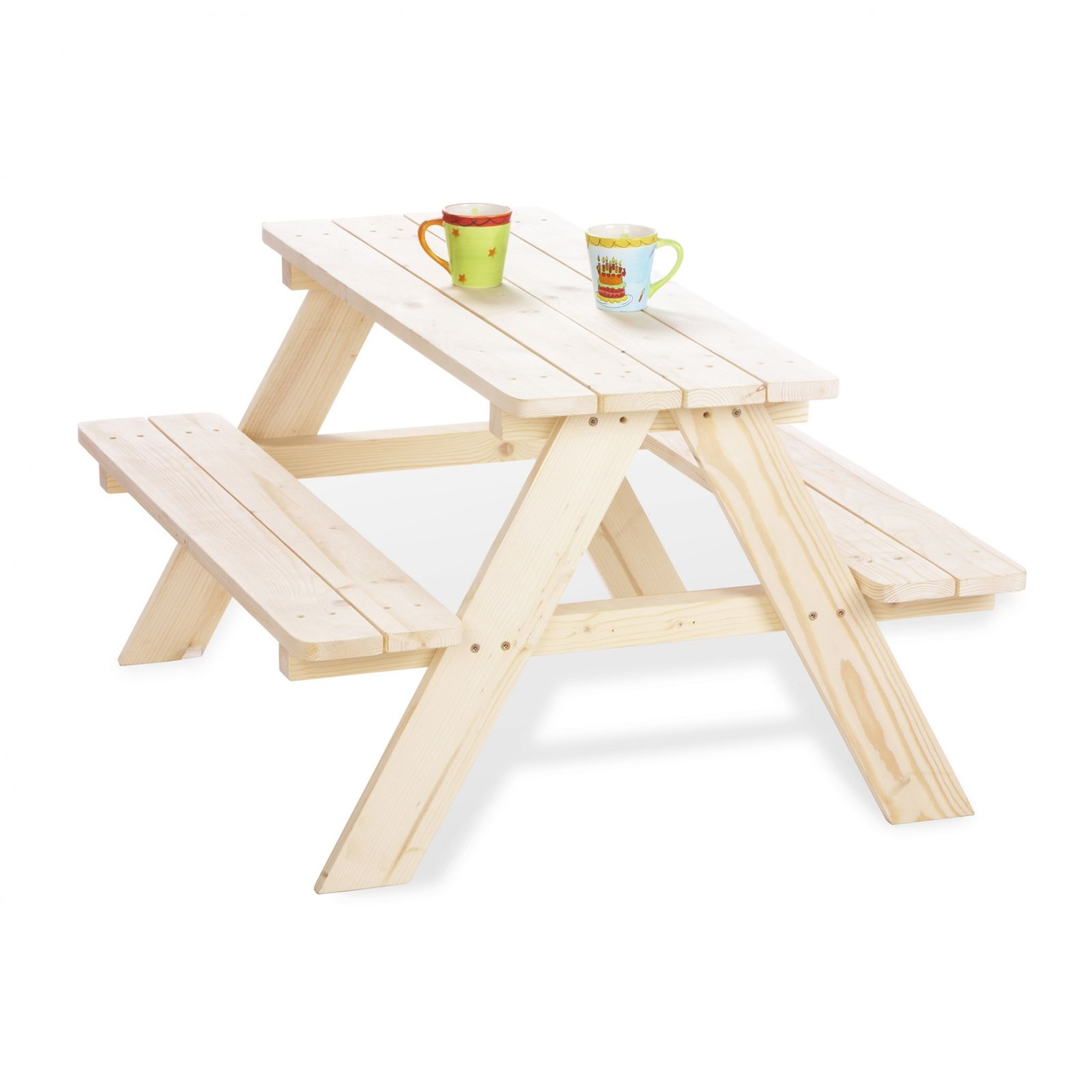 Table pique-nique enfant 4 places : Pinolino - Table de jardin ...