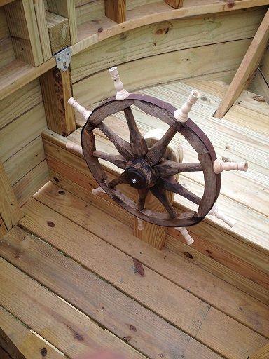 Piratenschiff Spielplatz Selber Bauen Piraten Klettergerust
