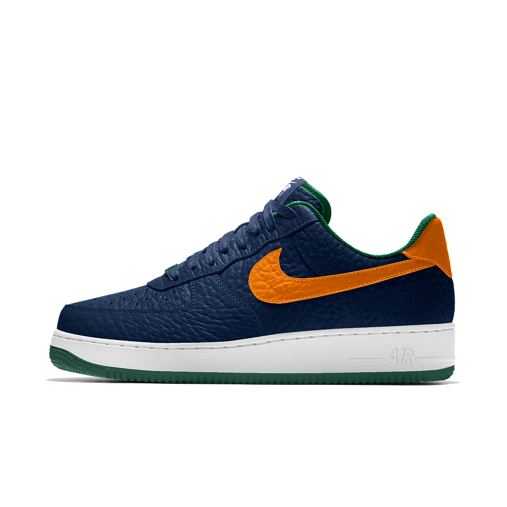 buy online a7785 75409 Nike Air Force 1 Low Premium iD (Utah Jazz) Mens Shoe Size 11.5 (Blue)