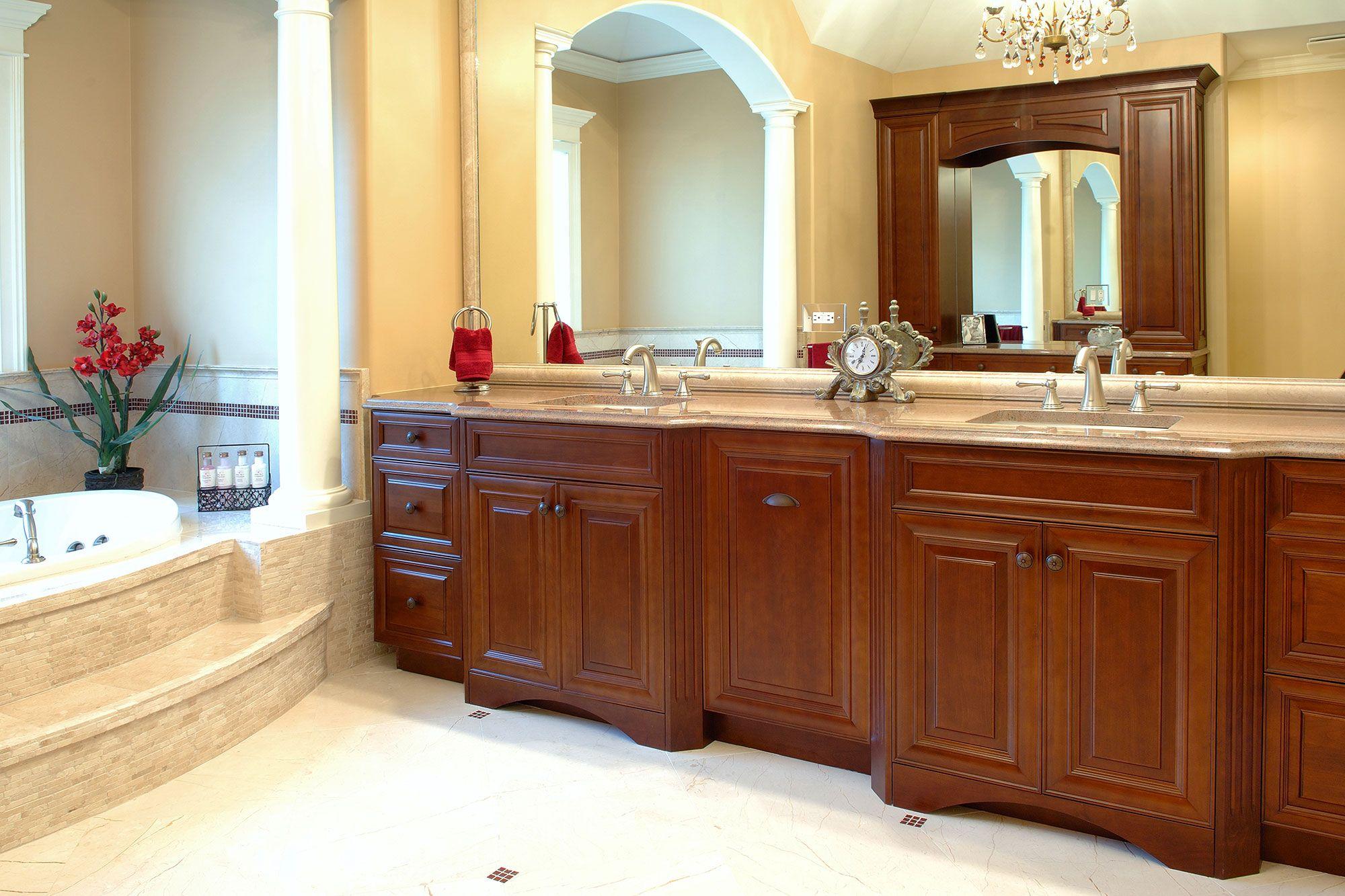 Cherry Slideshow Kitchen Cabinets Bathroom Vanity