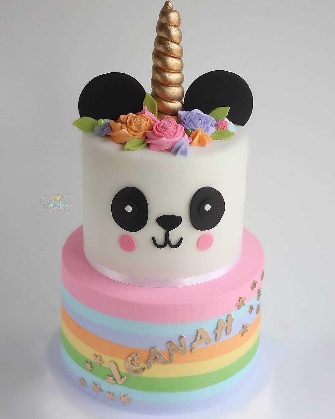 What S Better Than A Panda Cake A Pandicorn Cake