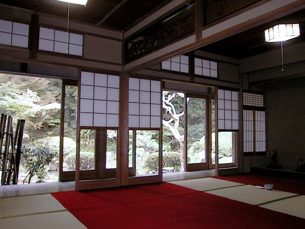 ancient japanese architecture interior with japanese home design w