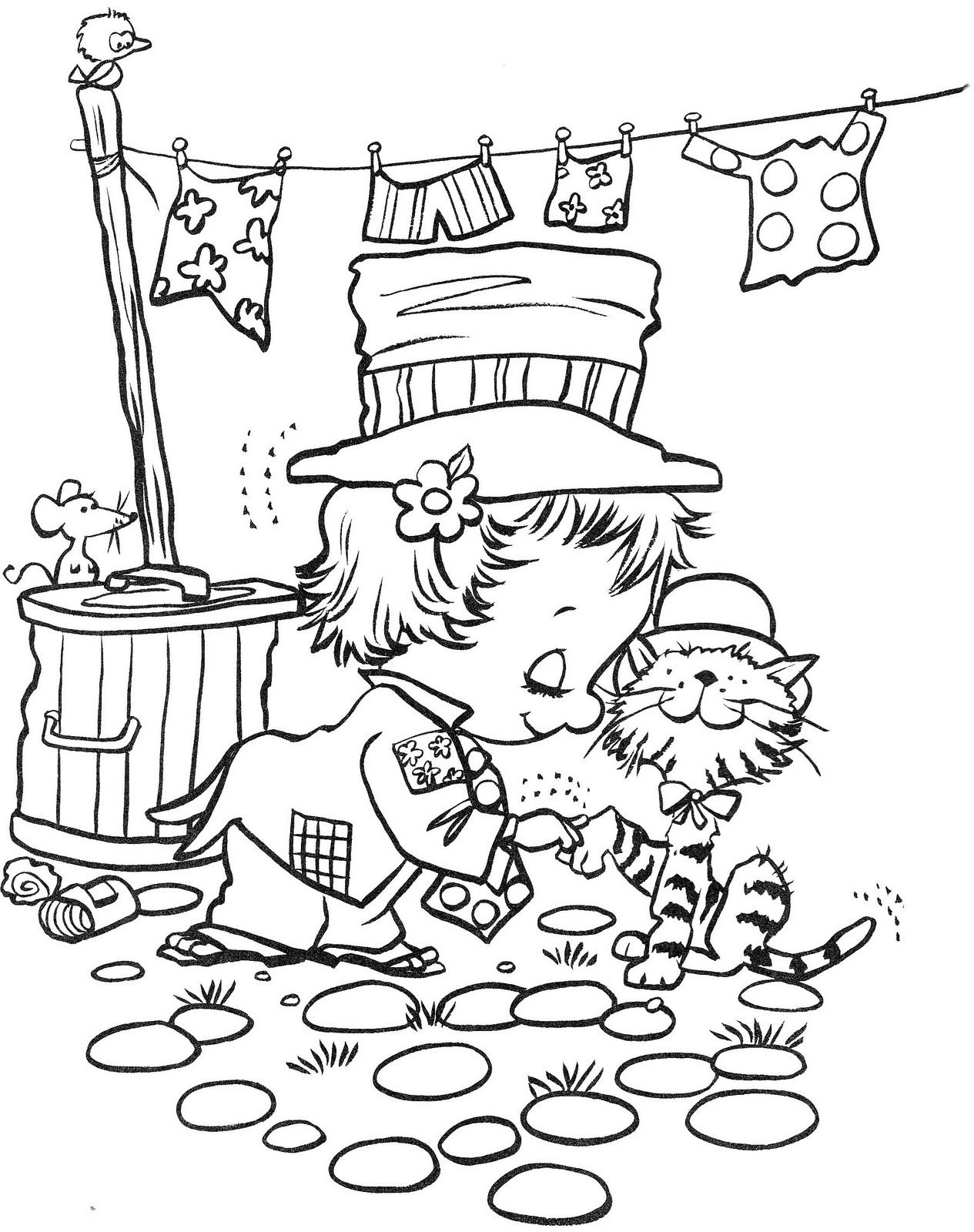 Hoeboes And Redheads Coloring Book