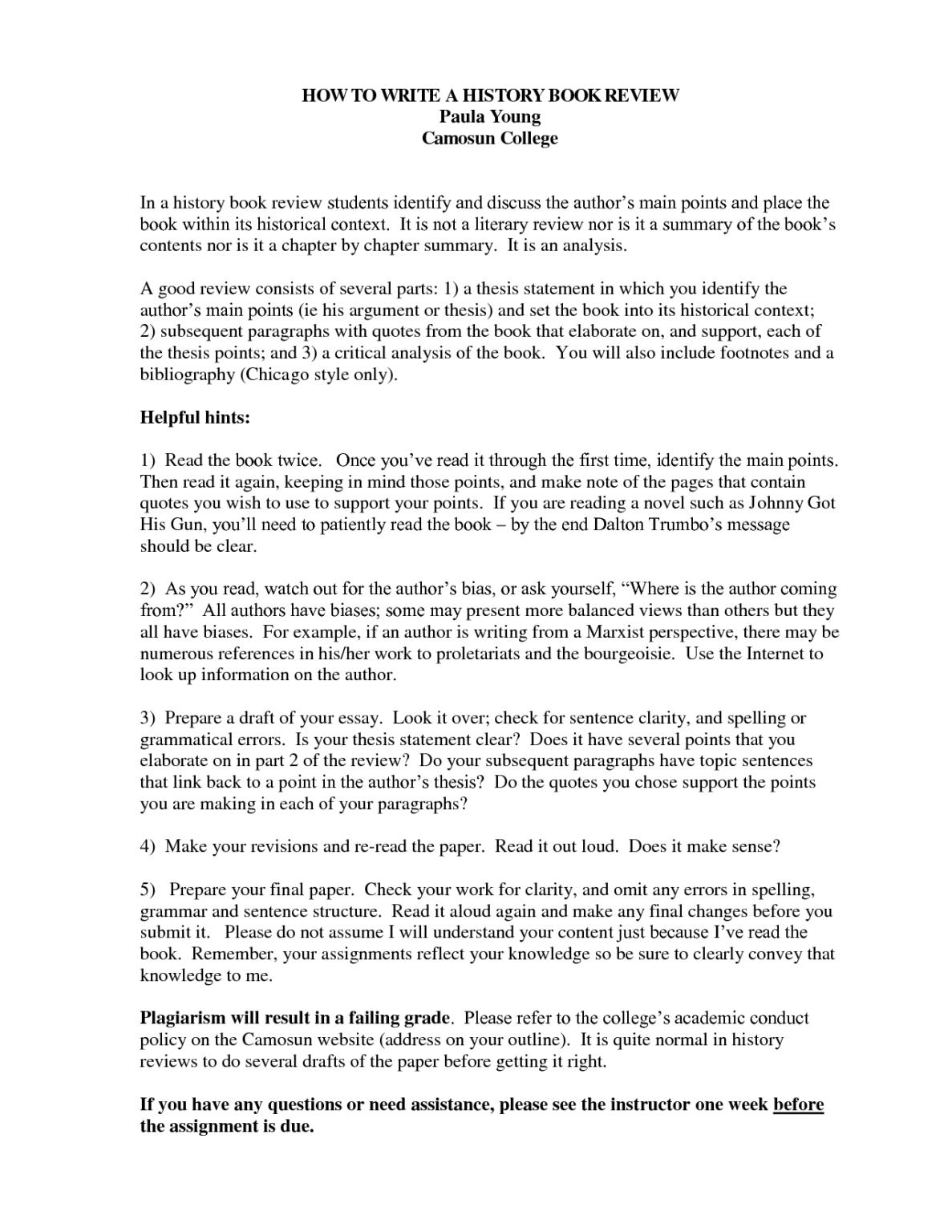 Book Report Examples College - Karati.ald10 regarding College