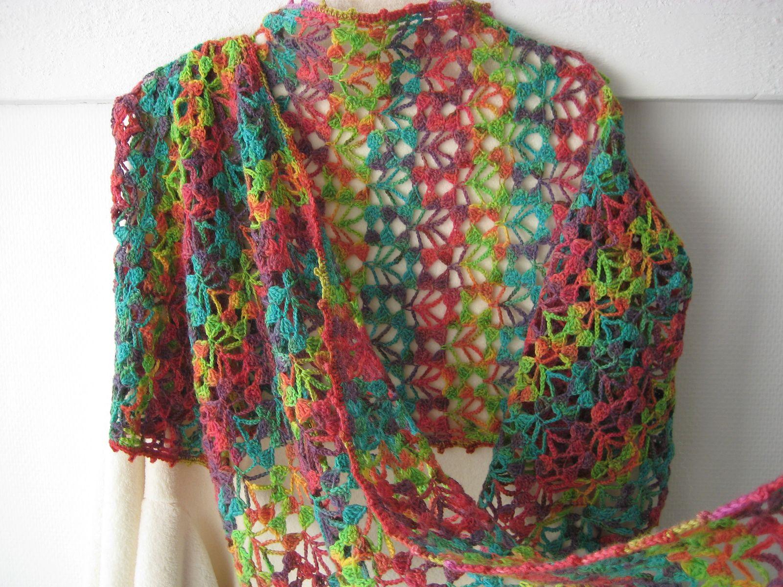 Mist Stole By Cathy Johnson - Free Crochet Pattern - (ravelry ...