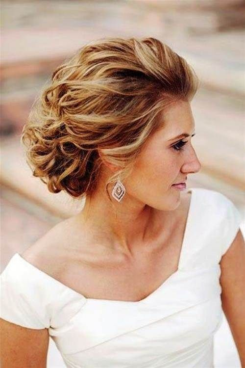 einfache Mutter der Braut Frisuren