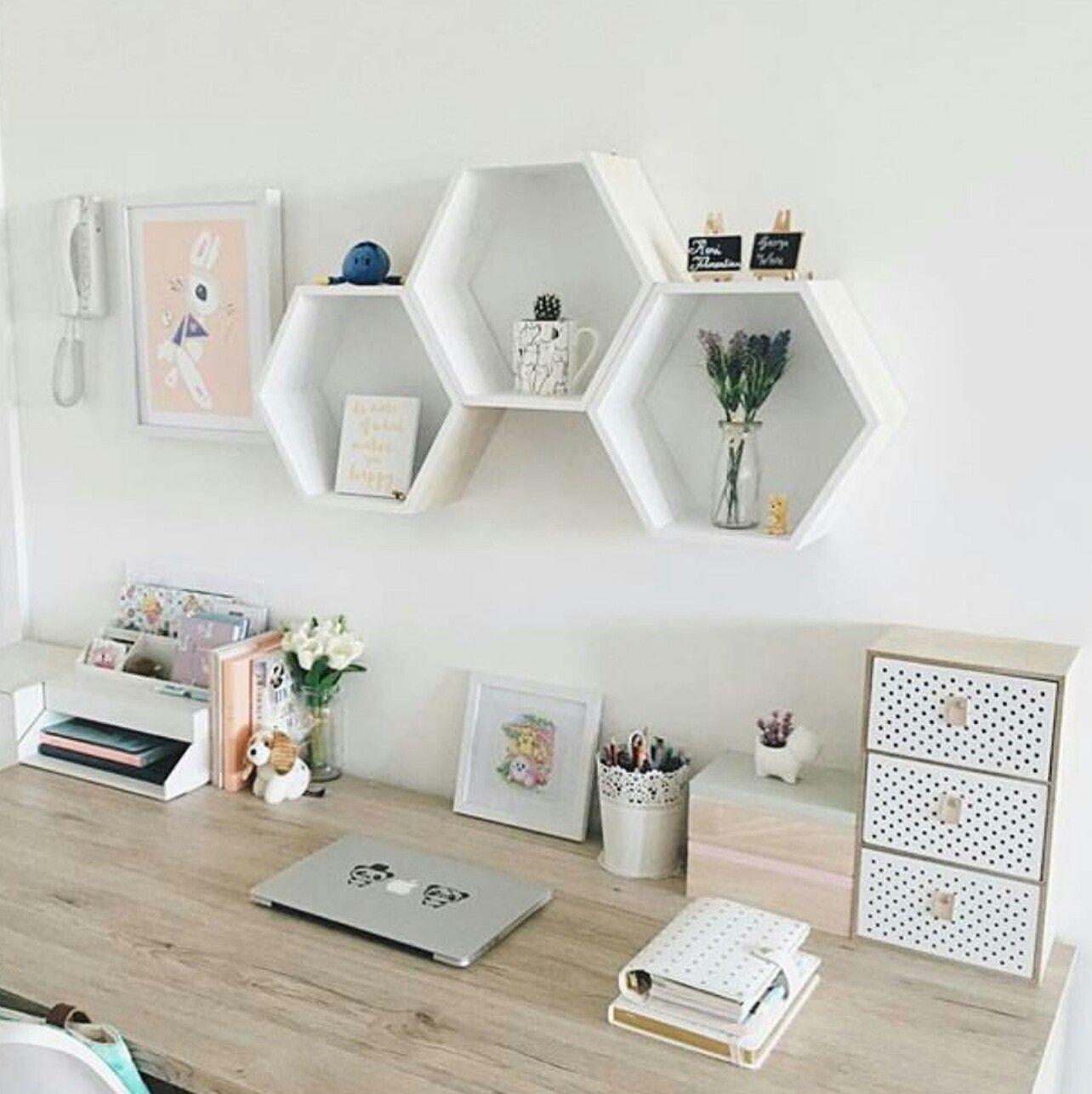 Home decoration deco office minimalist work minimal decoracion de espacio trabajo almacenaje bureau diy decor organization also rh pinterest