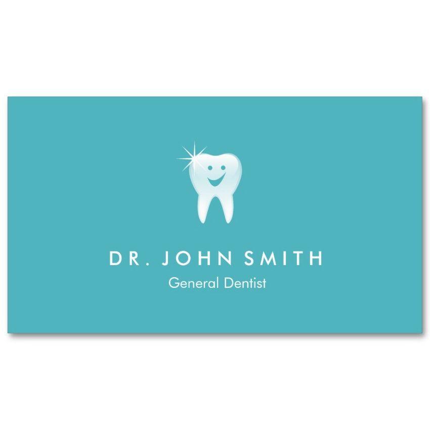 Aqua blue dental visiting card design happy tooth appointment aqua blue dental visiting card design happy tooth appointment card for dentists dental clinics reheart Gallery