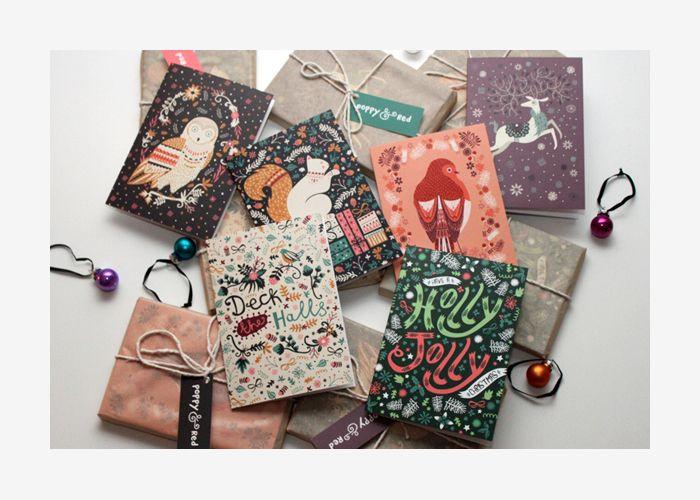 Cartões de Natal inspiradores | Design Culture