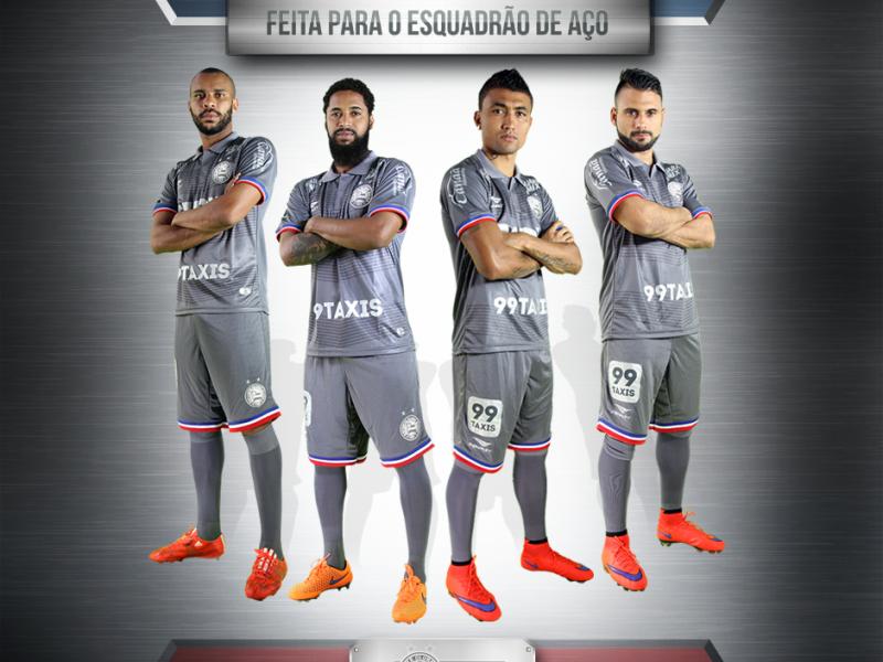 e80954c979dd9 É DE AÇO! - Esporte Clube Bahia