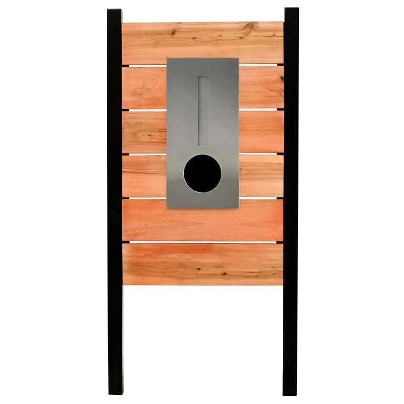 Elite Letterboxes AirlieTimber Pillar Letterbox   Bunnings warehouse ...