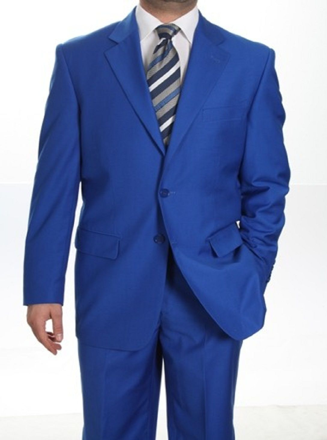 mens suits | Men's Royal Blue Suit: Men's Suits & Formal Wear ...