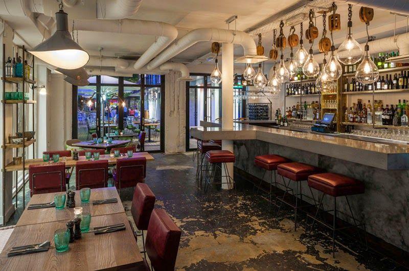 Mejores dise os de interiores de bares y restaurantes del for Mejor programa diseno interiores