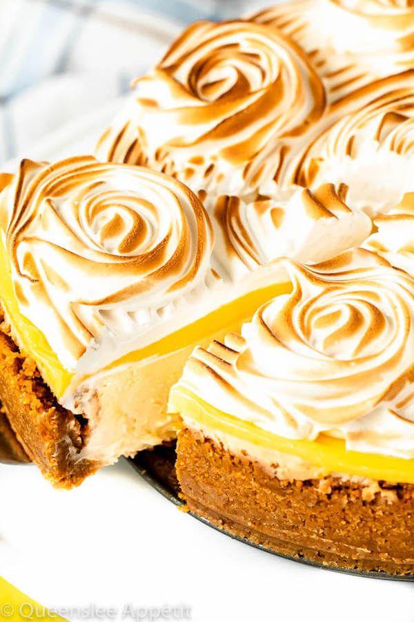 Lemon Meringue Cheesecake | Recipe | Lemon meringue ...