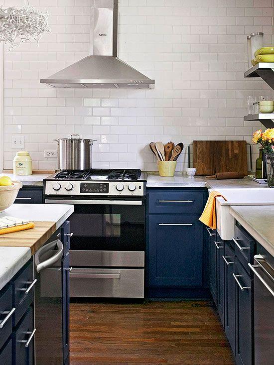 Find the Perfect Kitchen Color Scheme   Küchenfarben, Küchenschränke ...