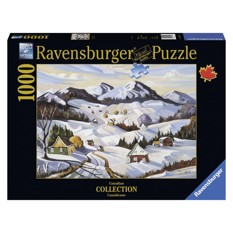 Casse-tête Hiver en Charlevoix Référence : 033671 #Puzzle #Cassetête #Jeux #Jouets