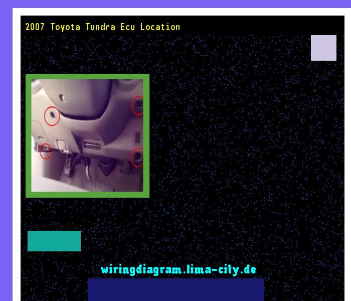 Remarkable 2007 Toyota Tundra Ecu Location Wiring Diagram 185622 Amazing Wiring Digital Resources Minagakbiperorg