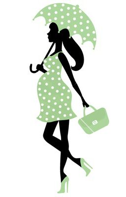 pregnant lady with umbrella we re having a baby pinterest rh pinterest com pregnant lady with umbrella clipart pregnant lady with umbrella clipart