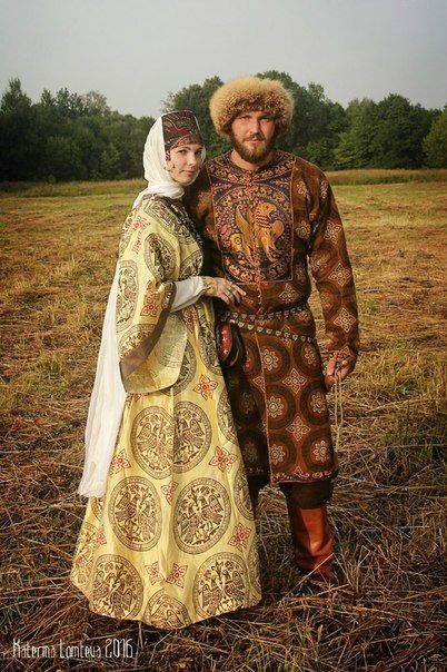 1000 Images About Medieval Russian Clothing On Pinterest