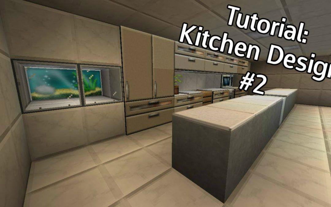 Minecraft Kitchen Design 2 Tutorial Kitchen Organization