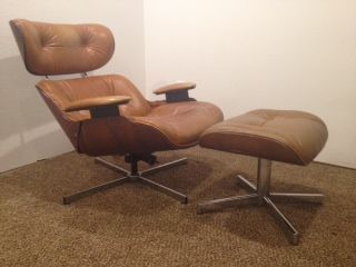 Plycraft Lounge Chair + Ottoman 599 in Denver (With