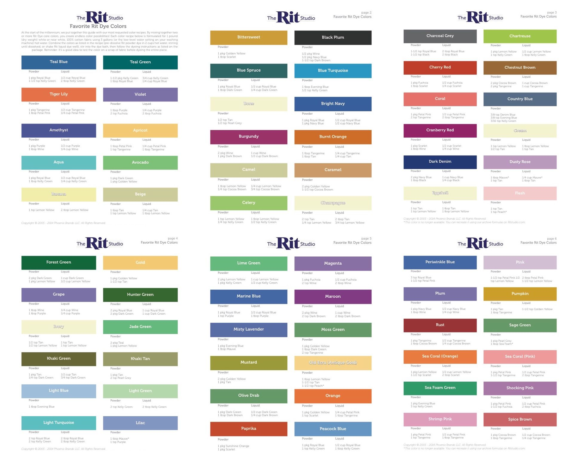 Rit dye color mixing chart image collections free any chart examples rit dye colors chart gallery free any chart examples rit dye color mixing chart choice image nvjuhfo Image collections