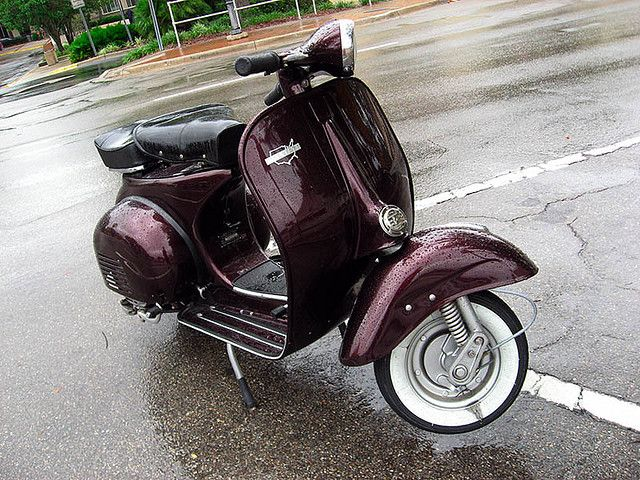Allstate Vespa scooter, seen in Florida. My own photo.