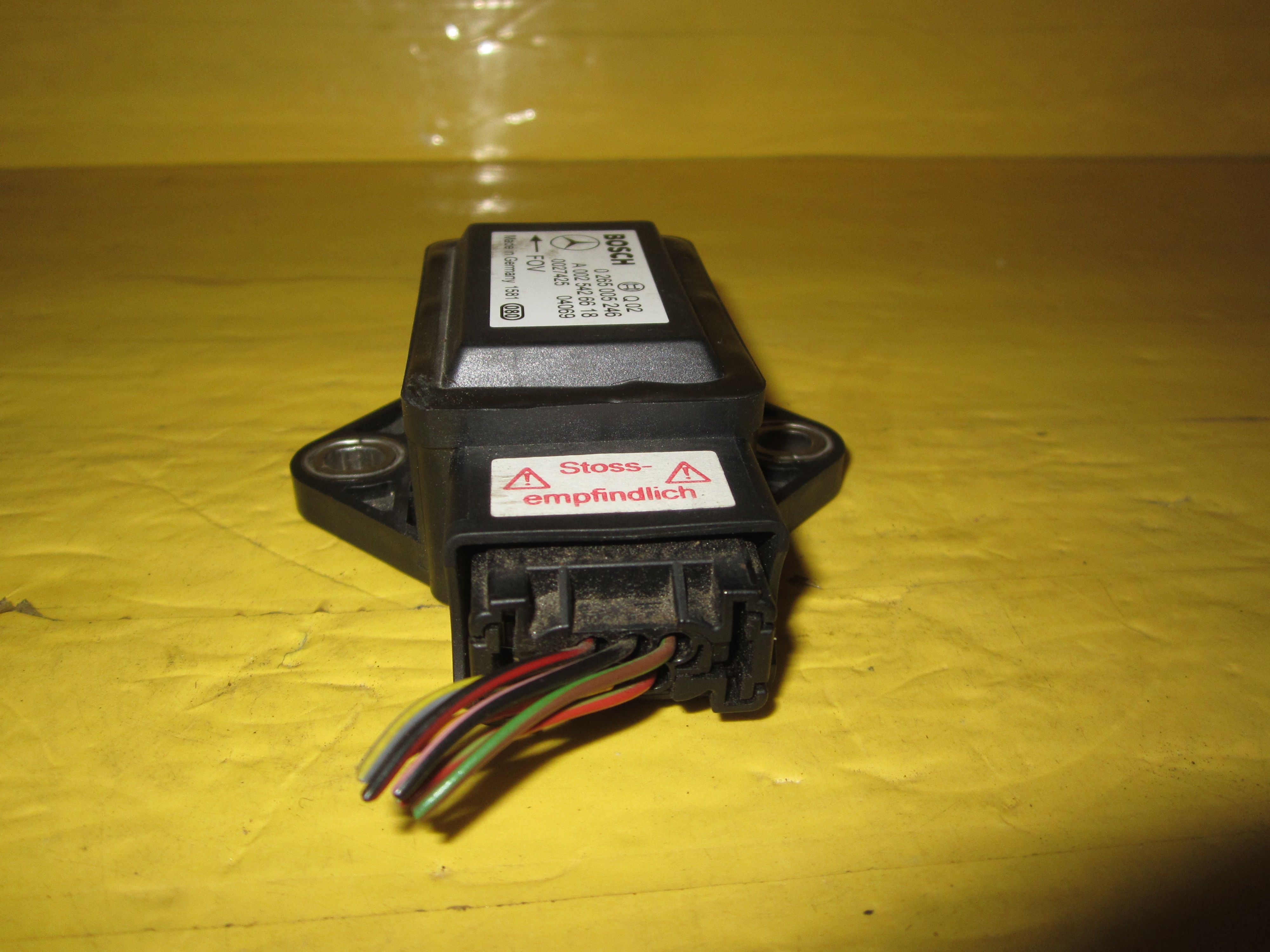 This yaw sensor is for 2003 2006 mercedes benz sl500 for Mercedes benz part numbers list