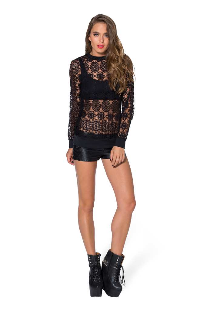 Little Lies Jumper - LIMITED by Black Milk Clothing $90AUD