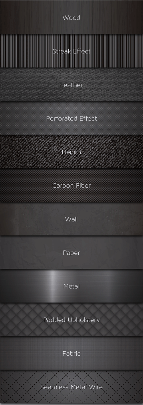 Black Pack 12 Vector Textures