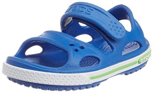 Crocs Cbnd2SndlPS, Unisex-Kinder Durchgängies Plateau Sandalen, Blau (Sea Blue/White 40K), 20/21 EU - http://on-line-kaufen.de/crocs/20-21-eu-crocs-cbnd2sndlps-unisex-kinder-sandalen-2
