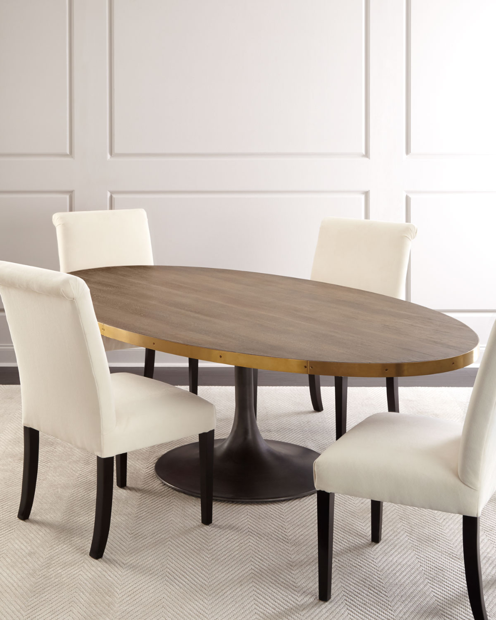 Rachel Oval Dining Table And Matching Items Matching Items Oval Table Dining Oval Dinning Room Table Dinning Table Decor