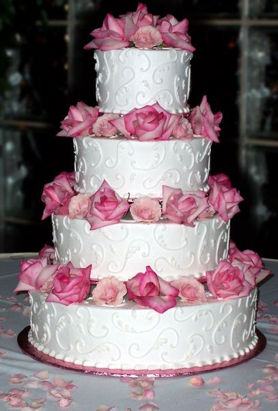 Cake ideas. but in blue or silver
