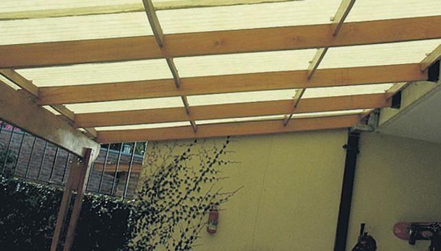 Chapa ondulada para cubiertas amazing mi techo de chapa for Modelos techos para garage