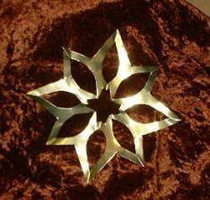 Weihnachtsbasteln Sterne Aus Goldpapier.Einfache Sterne Aus Goldpapier Ois Sterne Basteln Mit Kindern