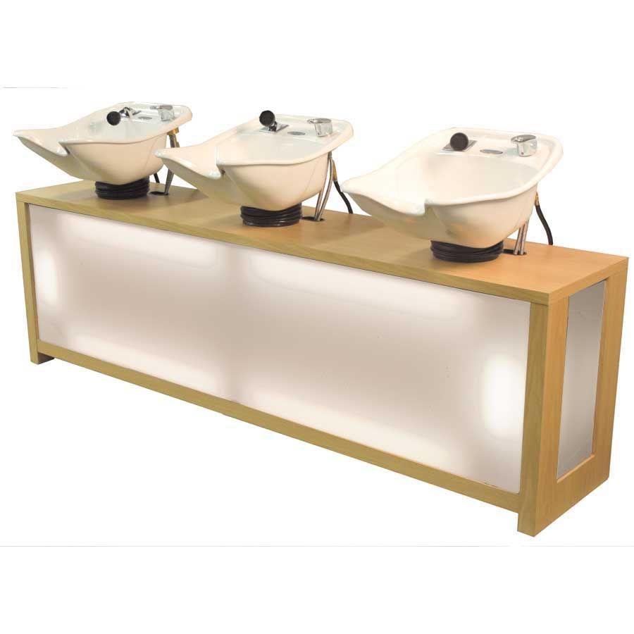Belvedere Shampoo Unit Small Hair Salon Salon Shampoo Area