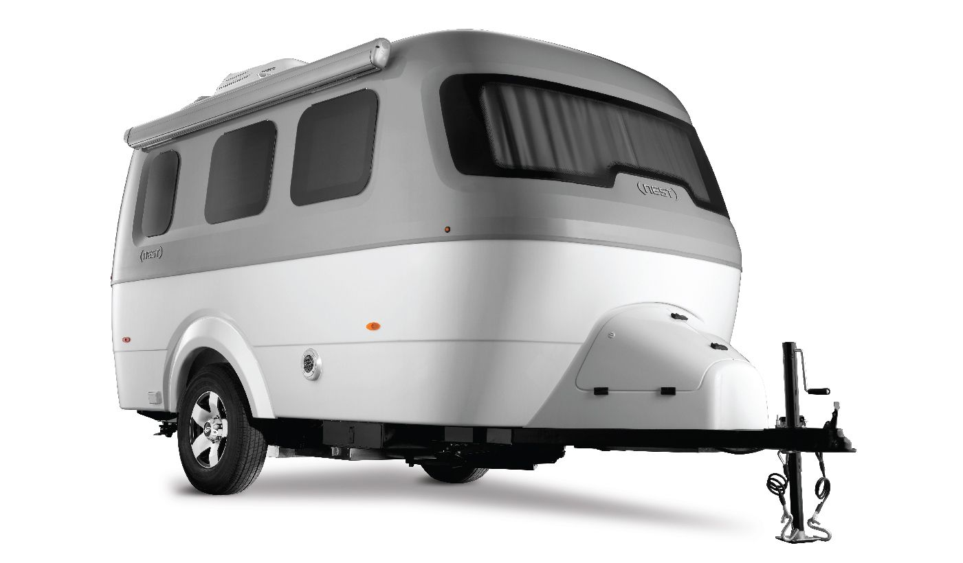 A First Look At The New Airstream Nest Small Campers