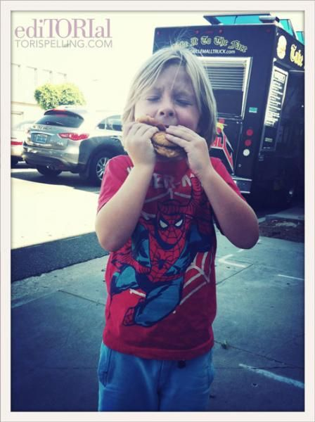Caption photo contest of Liam's burger bliss