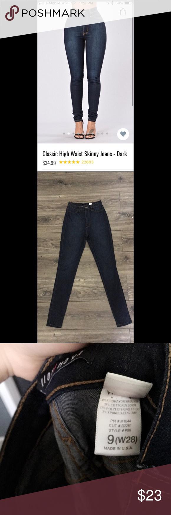 Fashion nova classic high waisted jeans my posh picks pinterest