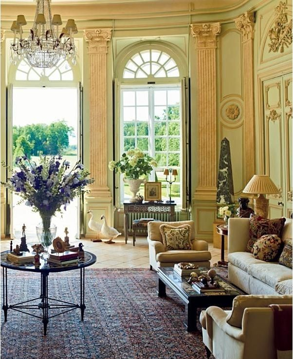 16 Stunning French Style Living Room Ideas: French Country Decorating, Country Style