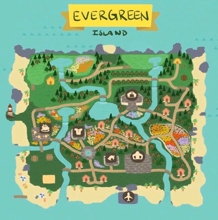 10+ Animal crossing town planner images