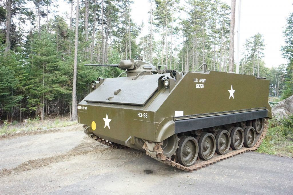 M59 Armored Personnel Carrier Vietnam Jeeps For Sale Armoured
