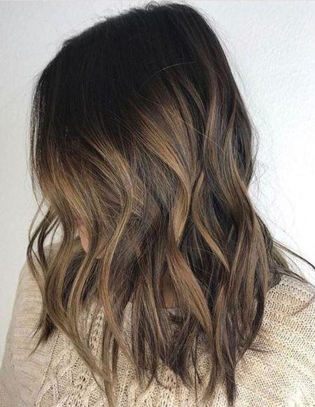 25 Brunette Hair Color With Highlights Caramel