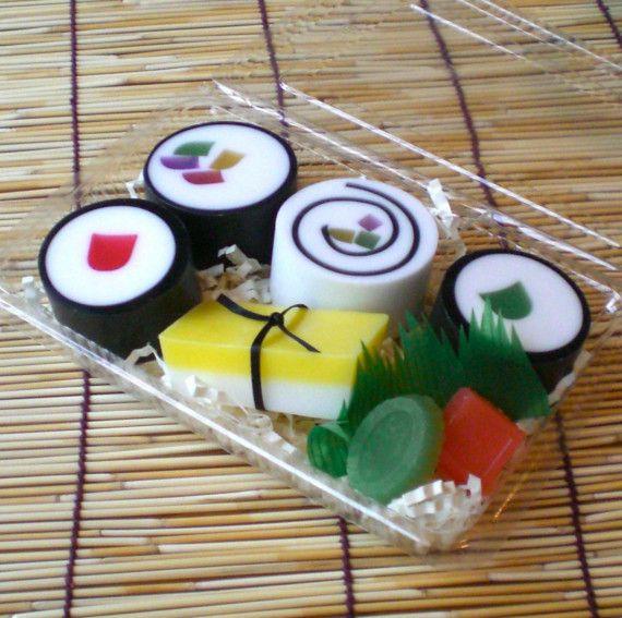 Assorted Bento Box Sushi Soap...midohana