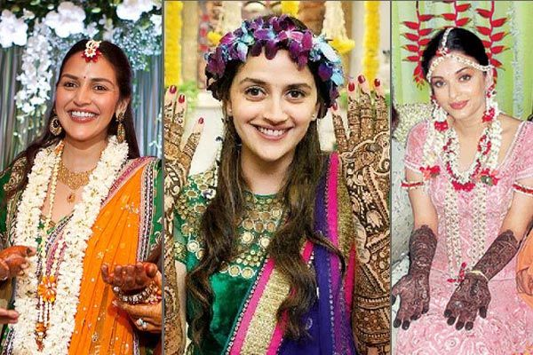 Mehendi Ceremony Look : 4 ways to look gorgeous on your mehendi ceremony and stylish
