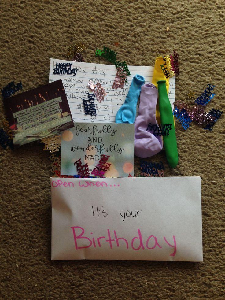Offnen Sie Wenn Sie Geburtstag Haben Geburtstag Haben Offnen