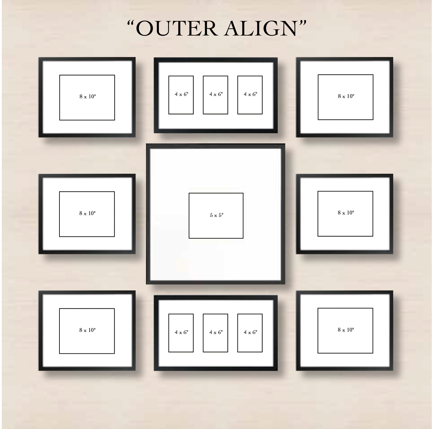 6 Ways To Set Up A Gallery Wall Gallery Wall Layout Gallery Wall Photo Wall Gallery