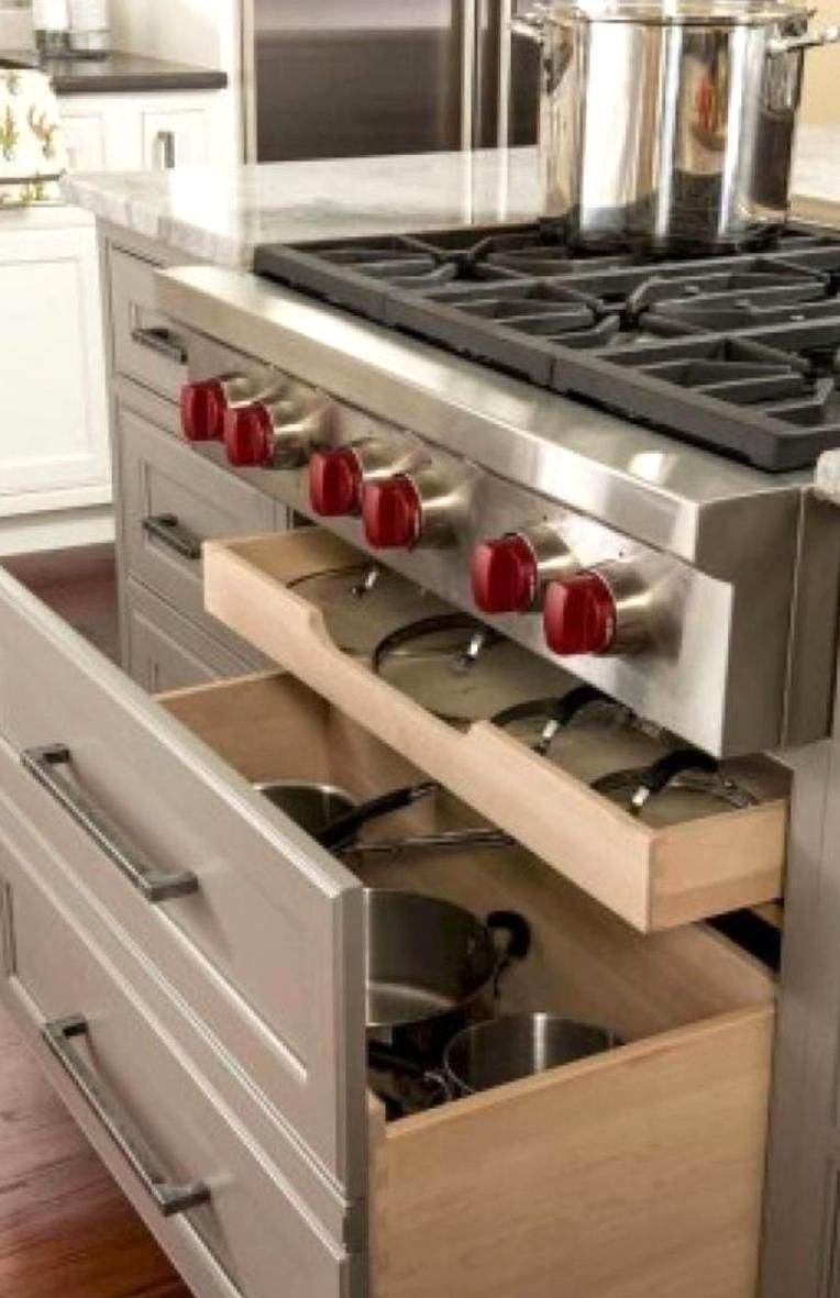 We Will Have An Oven Under Range But Would Be Good To Have A Cleananized Way To Store Pot In 2020 Kitchen Cabinet Plans Interior Design Kitchen Kitchen Cabinet Storage