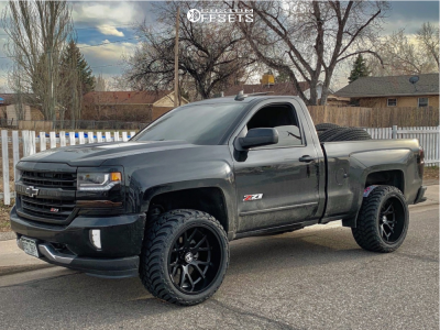2018 Chevrolet Silverado 1500 Hostile Rage Amp Mud Terrain Attack